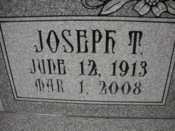 "Joseph T ""Joe"" Kalcevic"