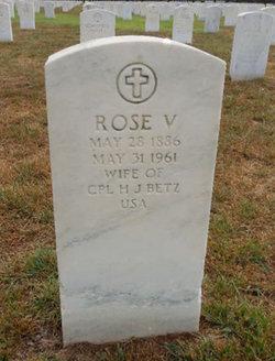 Rose V Betz