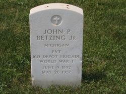John P Betzing