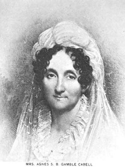 Agnes Sarah Bell <I>Gamble</I> Cabell