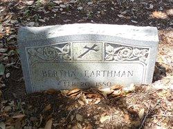 Bertha Earthman