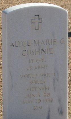 Alyce-Marie C Cushnie