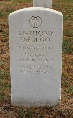"Anthony Joseph ""Tony"" Di Fulgo"