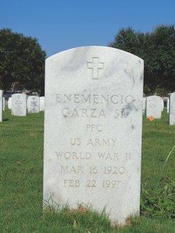 Enemencio Garza, Sr