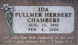 Ida <I>Fullmer</I> Chambers