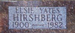Elsie M. <I>Yates</I> Hirshberg