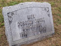 Dorothy <I>Sweet</I> Burghardt