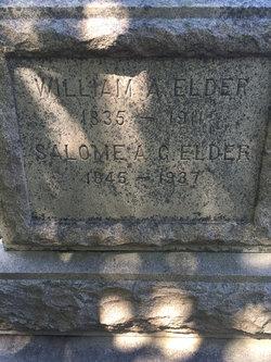 Salome A. G. <I>Gifford</I> Elder