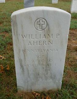 William P Ahern