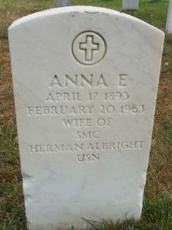 Anna E Albright