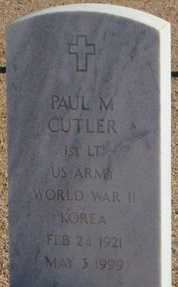 Paul Michael Cutler