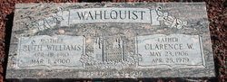 Clarence W Wahlquist