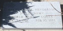 """Mack Victor """"Jack"""" Henderson"""