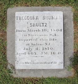 Theodora <I>Shultz</I> Shuman
