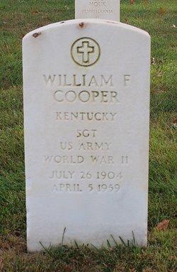 William F Cooper