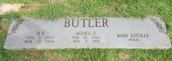 Agnes U Butler
