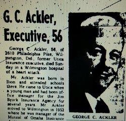 George C. Ackler