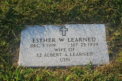Esther W Learned