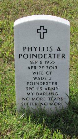 Phyllis Angela <I>Waters</I> Poindexter