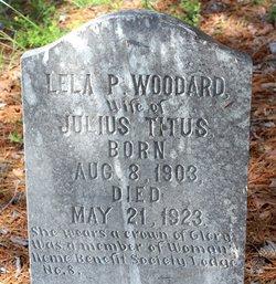Lela P <I>Woodard</I> Titus