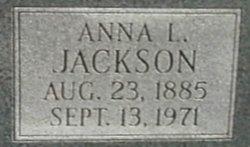 Anna Louise <I>Evington</I> Jackson