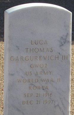Luca Thomas Gargurevich, III