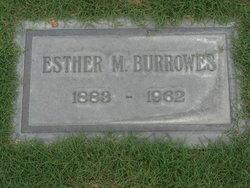 Esther Morgan Burrowes