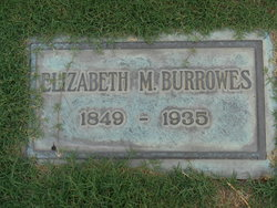 Mary Elizabeth <I>Morgan</I> Burrowes