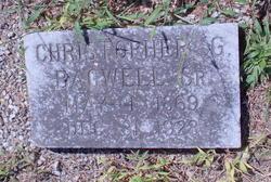 Christopher G. Bagwell Sr.
