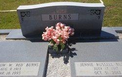 Jennie S <I>Russell</I> Burns