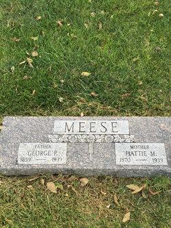 Hattie M <I>Cowan</I> Meese