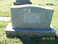 Martha Rose Lahr