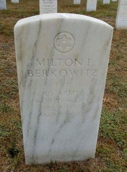 Milton I Berkowitz