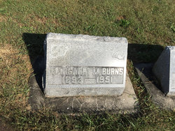 Margaret Marie <I>Benson</I> Burns