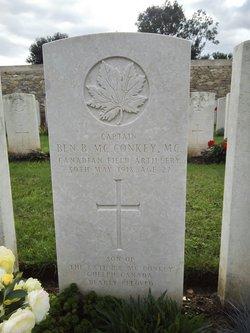 Capt Benjamin Bertram McConkey