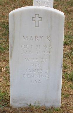 Mary K Denning