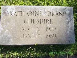 Katharine Drane Cheshire