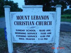 Mount Lebanon Christian Church Cemetery