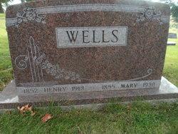 Mary <I>Bealer</I> Wells