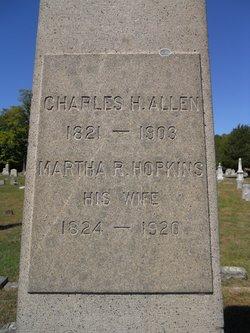 Martha R. <I>Hopkins</I> Allen
