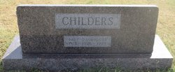 Infant Daughter Childers