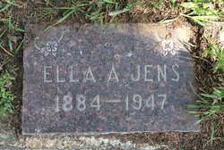 Ella Augusta <I>Curtis</I> Jens