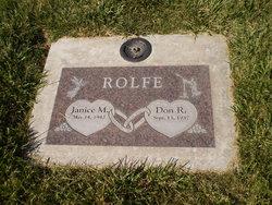 Janice M Rolfe