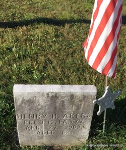 Pvt Henry H Akers