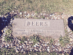 Mary Jane <I>Berger</I> Beers