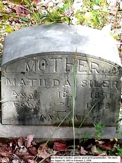 Matilda <I>Sowders</I> Siler