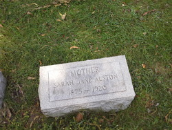 Sarah Jane Alston