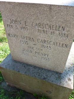 Mary <I>Spera</I> Carscallen