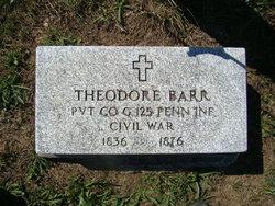 Pvt Theodore Barr
