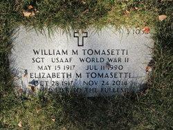 William M Tomasetti